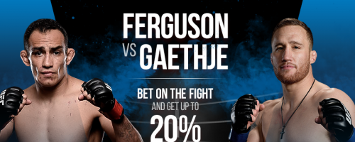 "1xBet ""Risk-Free Bet"" on Ferguson-Gaethje Fight"
